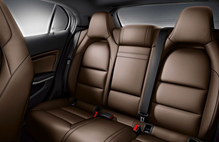 2017 GLA backseat