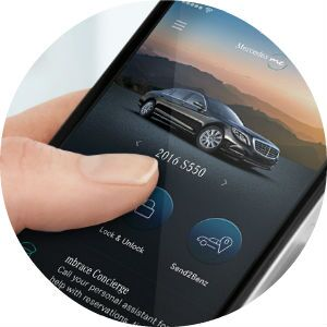 2017 Mercedes-Benz C-Class mbrace app