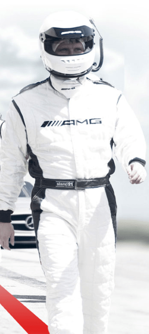 Mercedes AMG driver