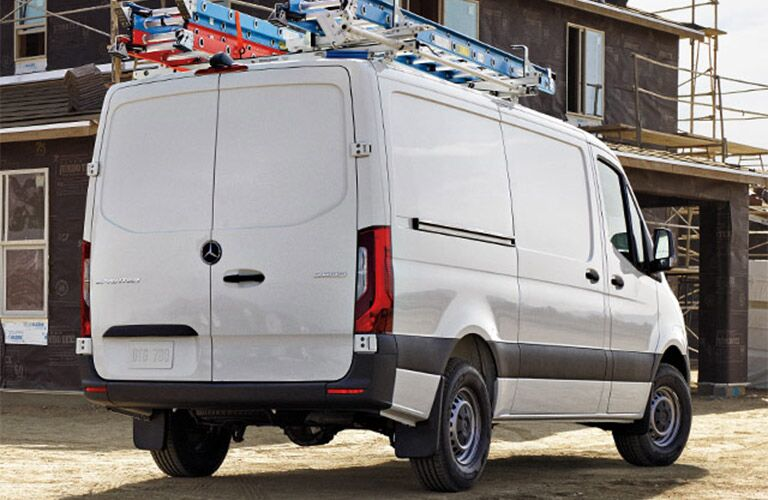 rear view of the 2019 Mercedes-Benz Sprinter