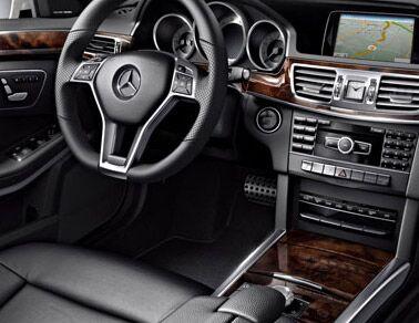 New <ercedes-Benz E-Class interior