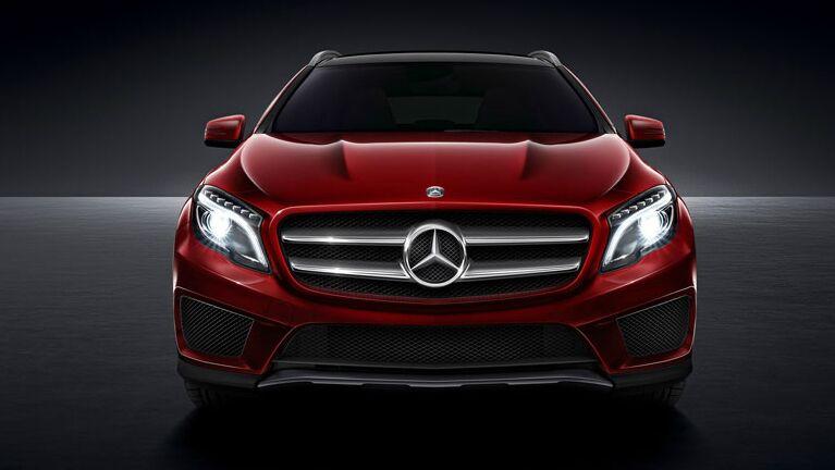 2015 Mercedes-Benz GLA250 Grille