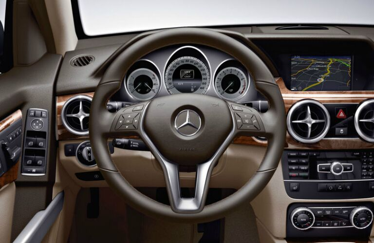 Mercedes GLK Steering Wheel