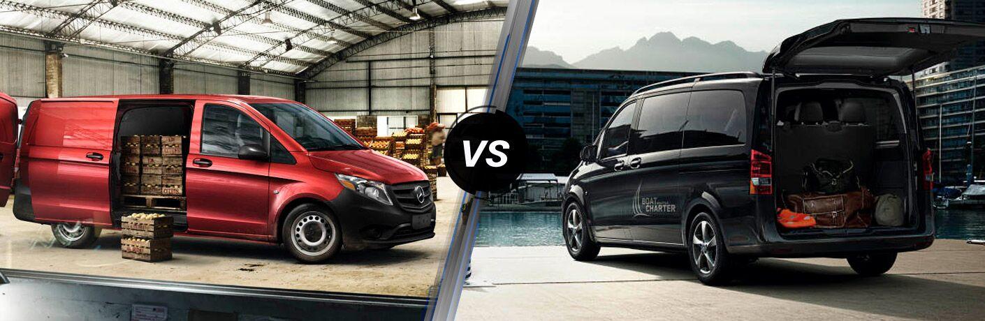 2016 Mercedes-Benz Metris Cargo Van vs Passenger Van
