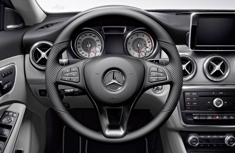 2016 Mercedes-Benz CLA interior dashboard
