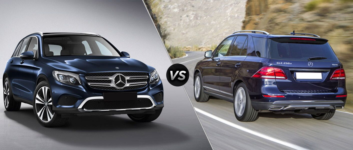 2016 mercedes benz glc class vs gle class. Black Bedroom Furniture Sets. Home Design Ideas