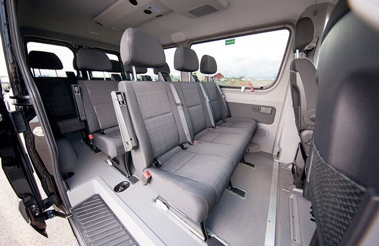 2016 Mercedes-Benz Sprinter rear passenger seats