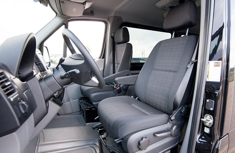 Front seats of the 2016 Mercedes-Benz Sprinter
