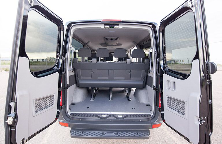 2016 Mercedes-Benz cargo van rear