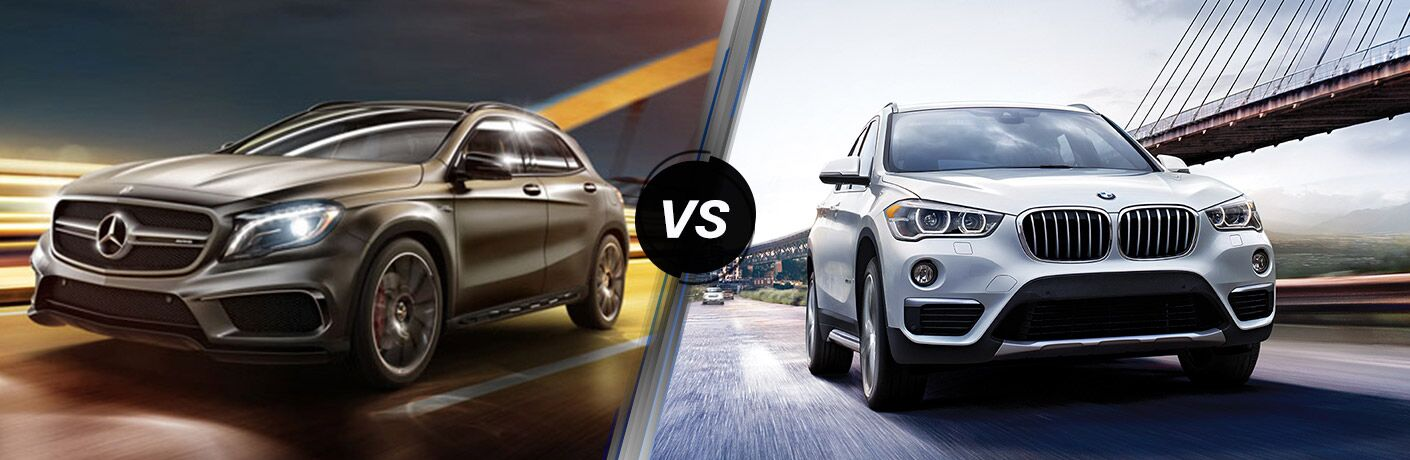2016 Mercedes-Benz GLA vs 2016 BMW X1