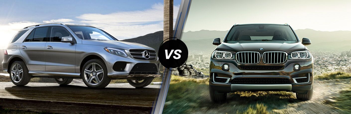 2016 Mercedes-Benz GLE vs 2016 BMW X5