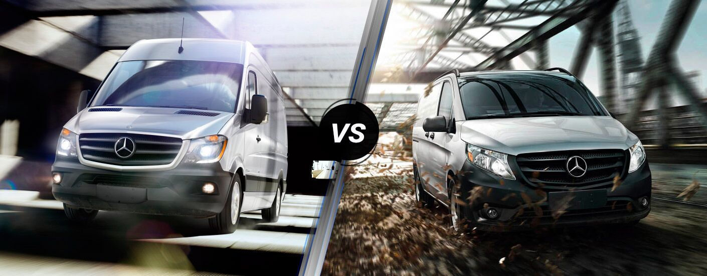 2016 Mercedes-Benz Sprinter vs. 2016 Mercedes-Benz Metris models