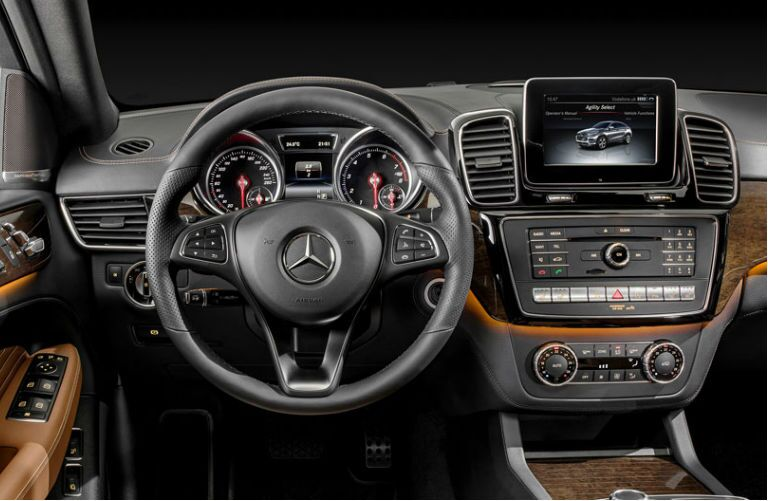 2016 Mercedes-Benz GLE 450 AMG Sport Coupe Interior COMAND interface