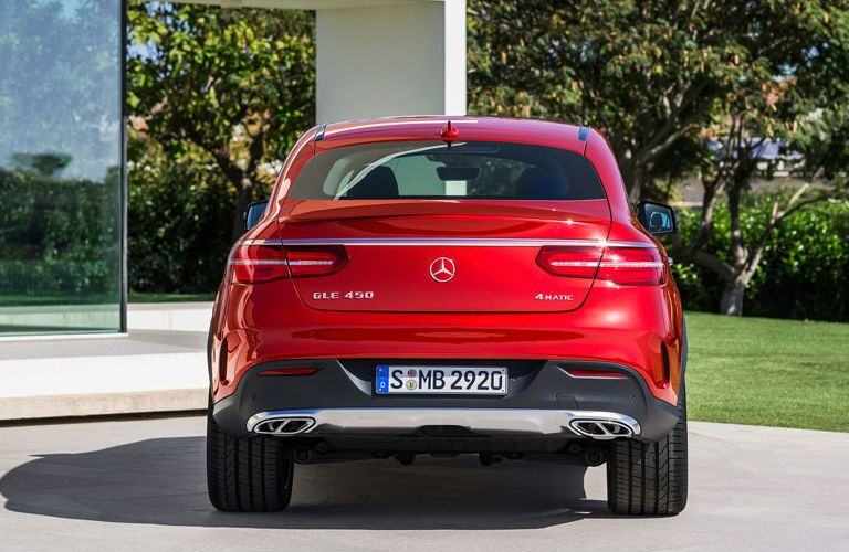 2016 Mercedes-Benz GLE 450 AMG Sport Coupe Rear Trunk