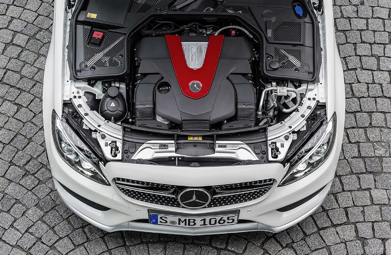 Mercedes-Benz C450 AMG Sport Engine
