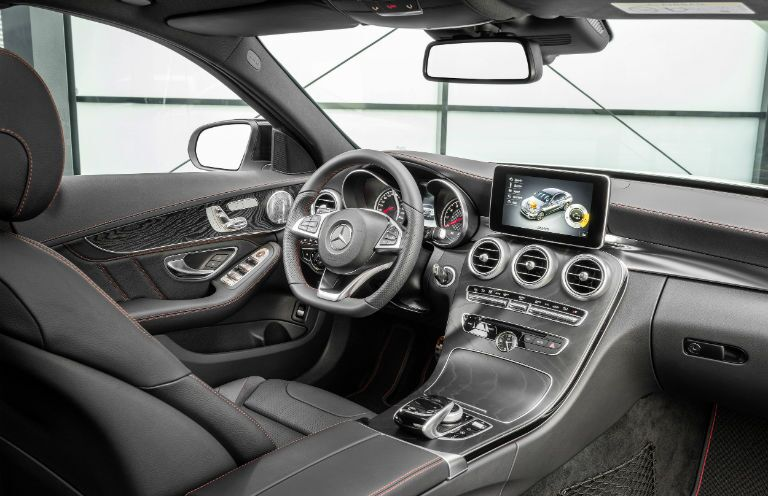 2016 Mercedes-Benz C450 AMG Sport Interior Steering Wheel