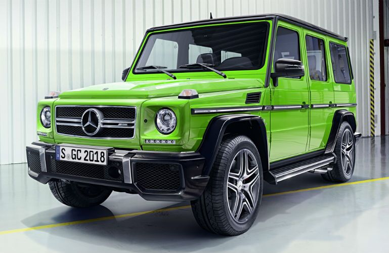 2016 Mercedes-Benz G-Class Alien Green