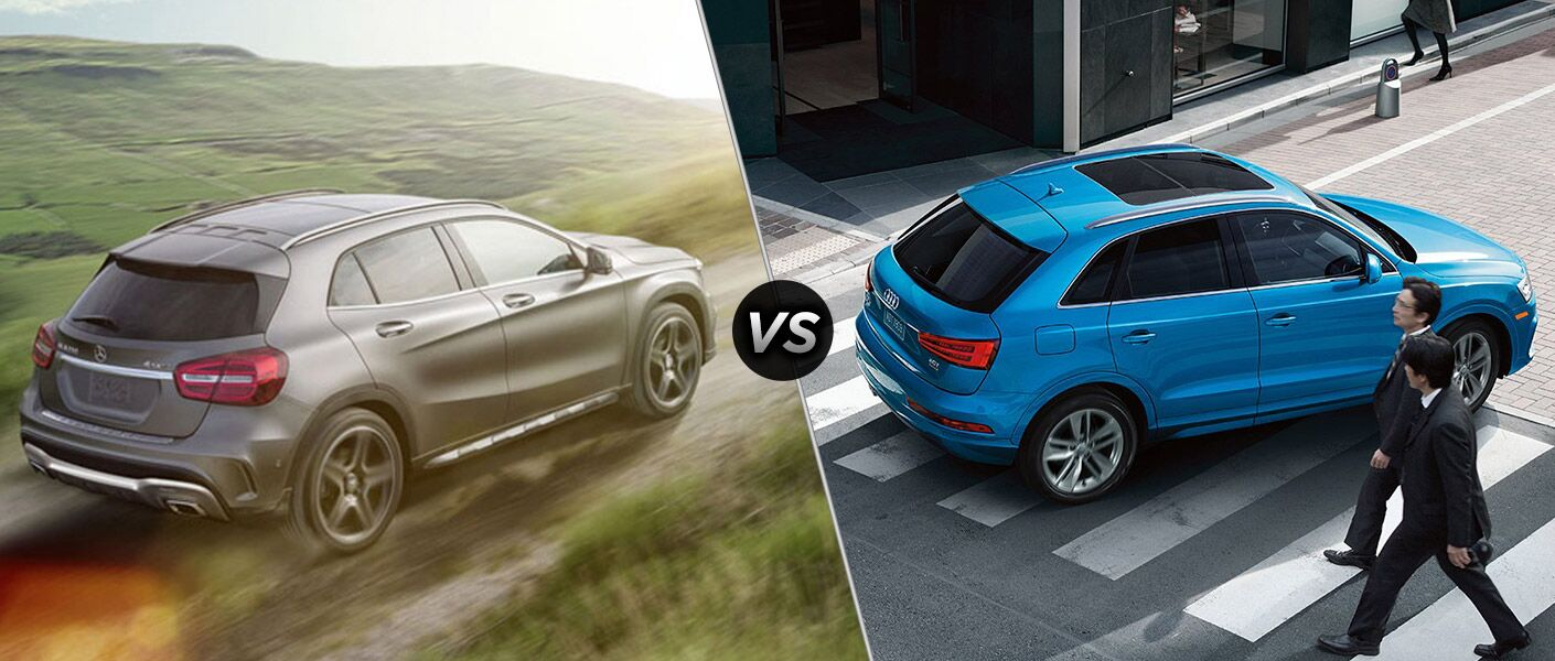2016 Mercedes-Benz GLA vs 2016 Audi Q3