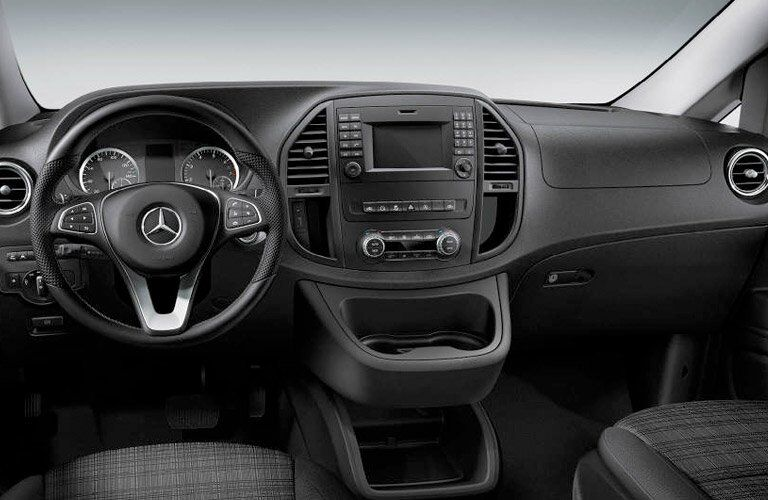 2017 Mercedes-Benz Metris dashboard