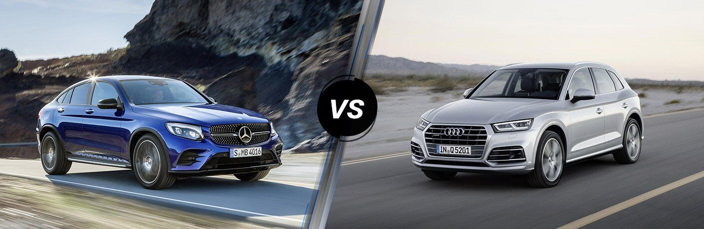 2017 Mercedes-Benz GLC vs 2017 Audi Q5