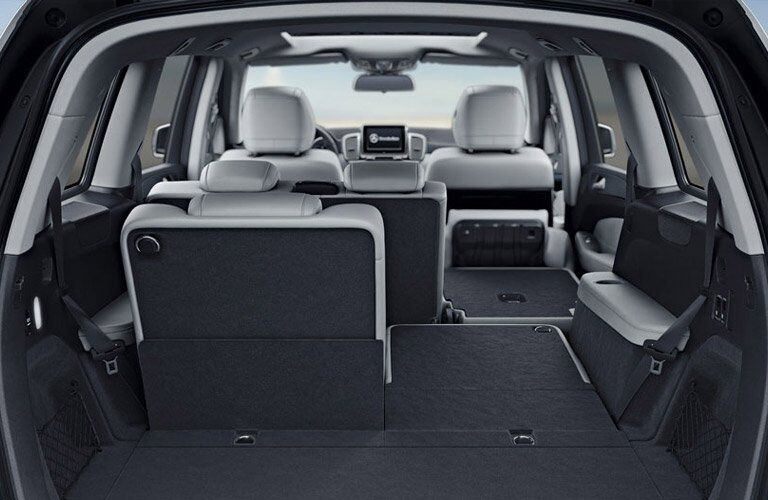 expansive rear cargo area of the 2017 Mercedes-Benz GLS