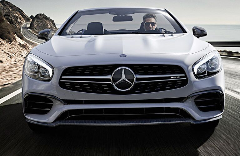 front grille view of the 2017 Mercedes-Benz SL-Class
