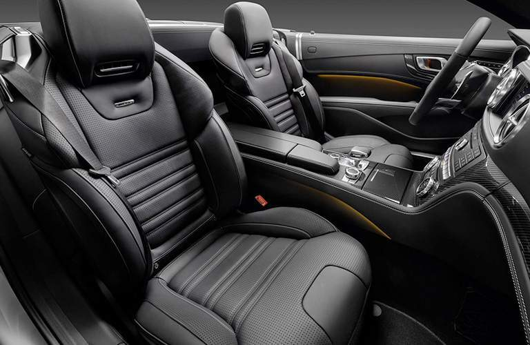 2018 Mercedes-Benz SL black sport seats