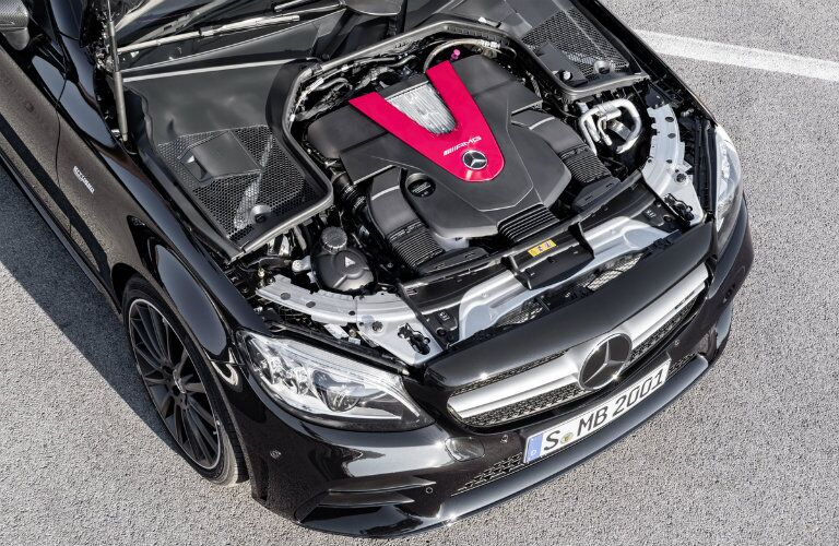 engine of the 2019 Mercedes-AMG® C 43