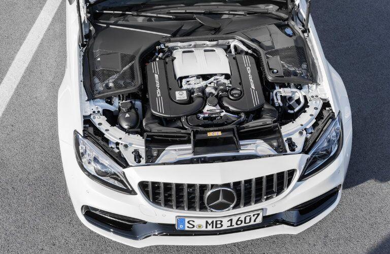 2019 Mercedes-AMG® C 63 V-8 engine