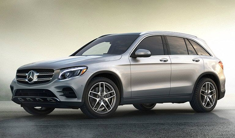side view of the 2019 Mercedes-Benz GLC