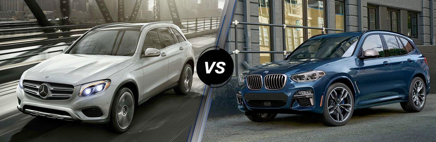 2019 Mercedes-Benz GLC vs 2019 BMW X3 comparison image