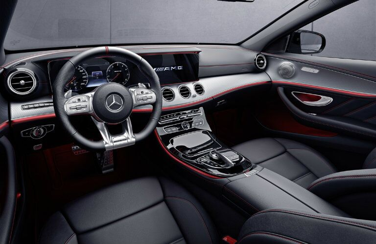 2019 Mercedes-AMG E 53 interior dashboard