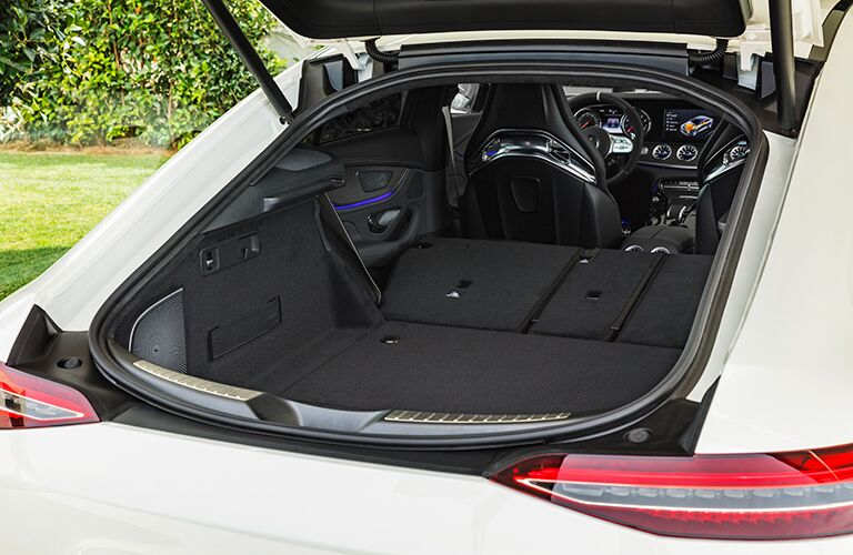 cargo area of the 2019 Mercedes-AMG® GT Four-Door Coupe