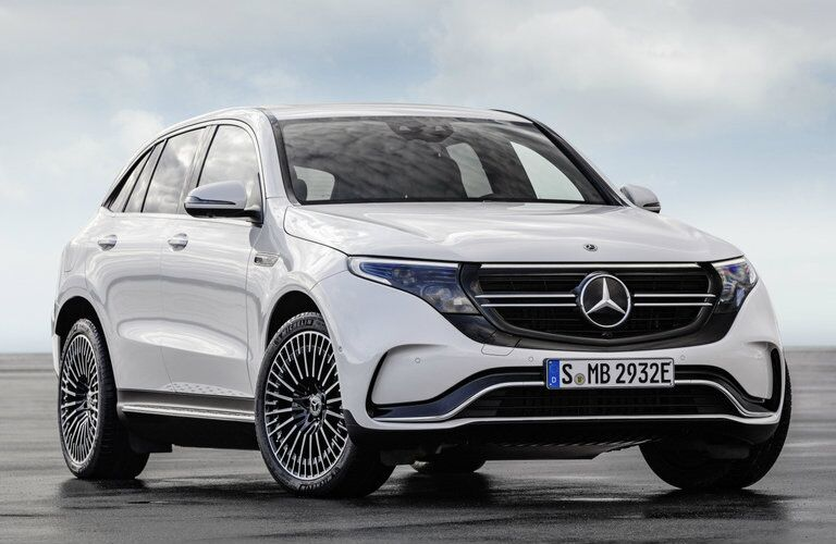 front of the 2020 Mercedes-Benz EQC