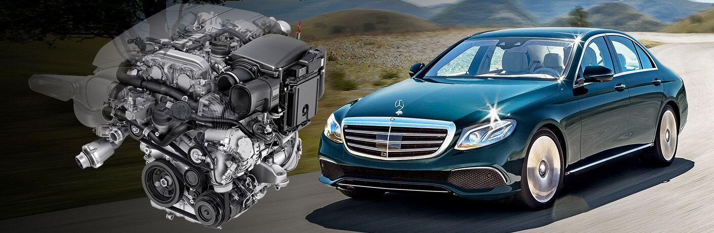 2017 Mercedes-Benz E-Class Engine Options
