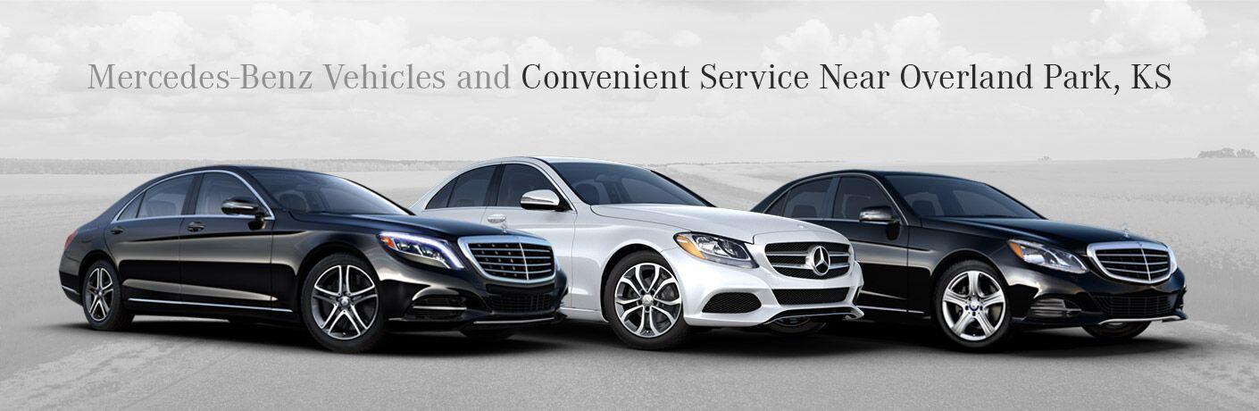 Mercedes-Benz Vehicles And Convenience Near Overland Park KS