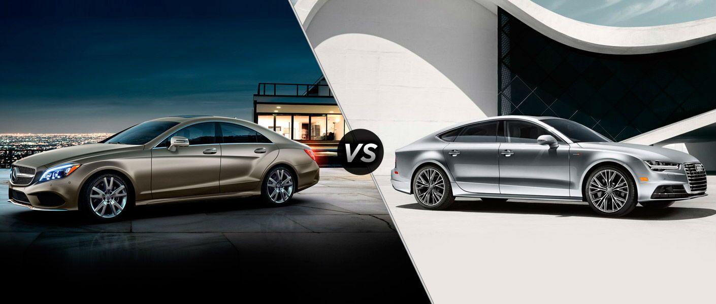 2016 Mercedes-Benz CLS vs. 2016 Audi A7 comparison