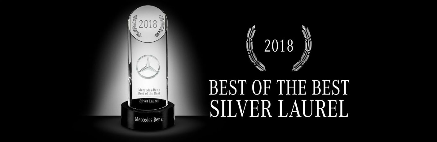 2018 MB Best of the Best Award for Mercedes-Benz of Kansas City