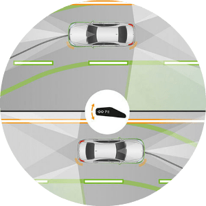 active lane change assist buttons in 2019 mb c class