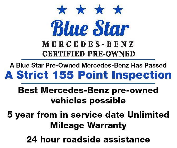 MercedesBenz Star Select Certified PreOwned Program Kansas City MO - Mercedes benz 24 hour roadside assistance
