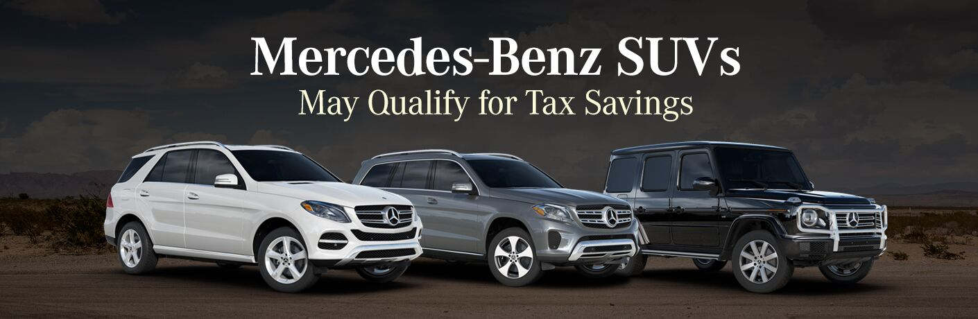 Mercedes-Benz SUVs like the GLS, GLE and G-Class May Qualify for Tax Savings
