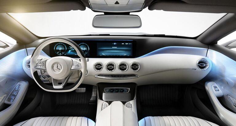 New <ercedes-Benz S-Class interior