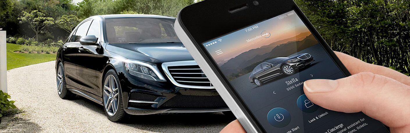 Pairing a phone with your mercedes benz for Mercedes benz telephone