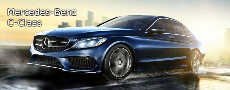 2016 Mercedes-Benz C-Class Blue