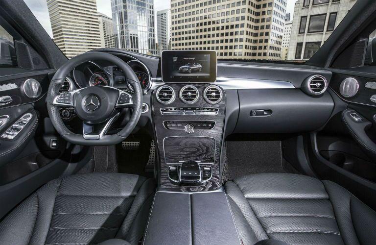 2016 Mercedes-Benz C-Class vs. 2016 BMW 3 Series interior