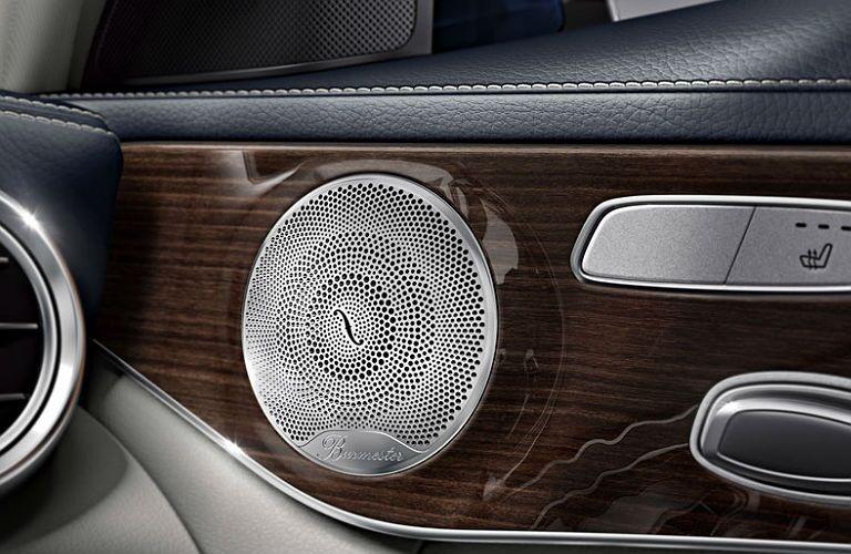 2016 Mercedes-Benz C-Class vs. 2016 BMW 3 Series speakers