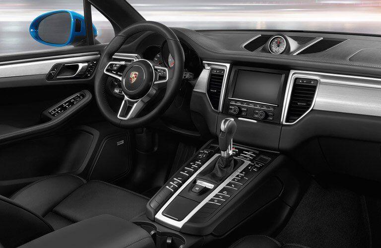 2017 Porsche Macan interior front driver's seat