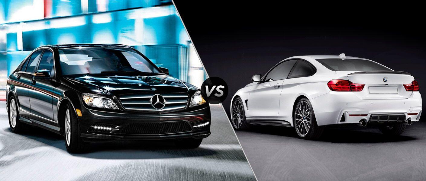 2014 Mercedes-Benz C-Class vs BMW 4-Series