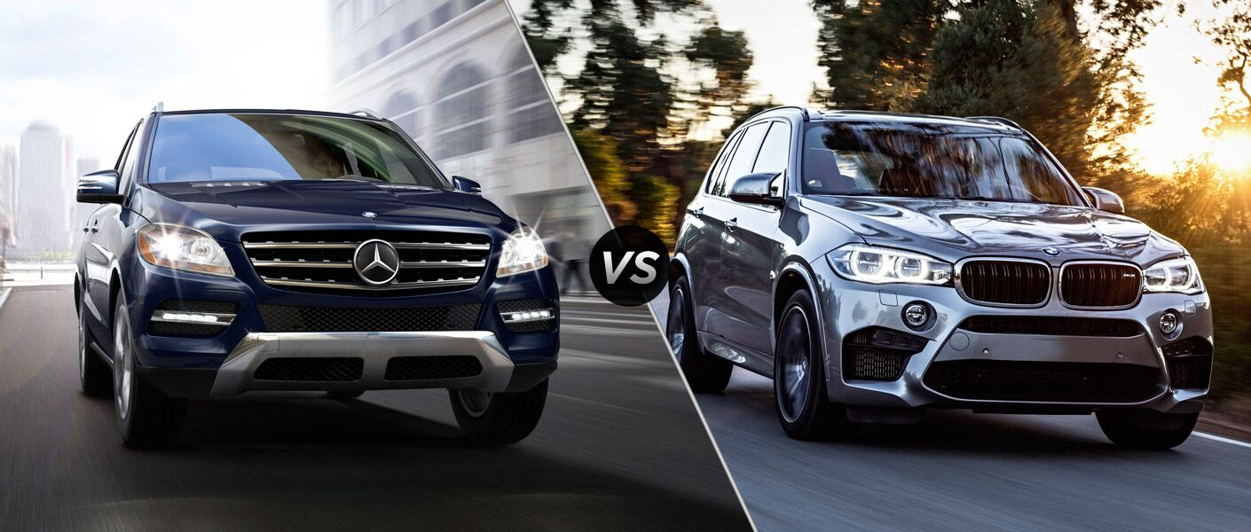 2014 Mercedes Benz Ml350 Vs Bmw X5