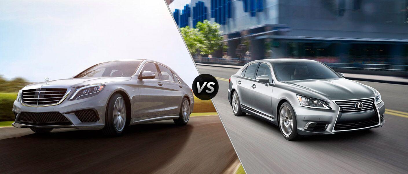 2014 Mercedes-Benz S-Class vs Lexus LS